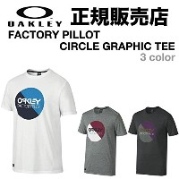 OAKLEY オークリー FACTORY PILLOT CIRCLE GRAPHIC TEE M WHITE