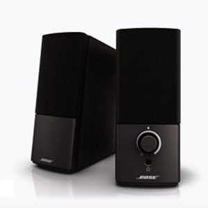BOSE Companion 2 Series III multimedia speaker system # Companion2IIIBK ボーズ (スピーカー)