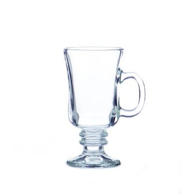 Libbey 8-1/2-Ounce Irish Coffee Mug, Clear, Box of 12 by Libbey