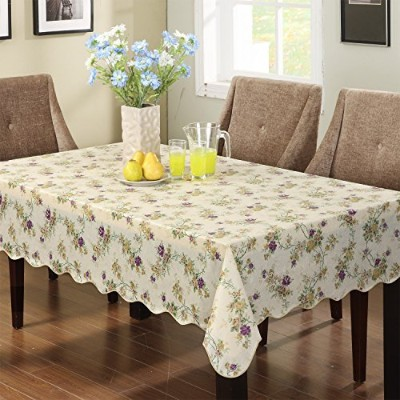 Ennas Cz028 Vinyl Outdoor Tablecloth Waterproof Oblong(rectangle) (47-Inch by 60-Inch oblong...