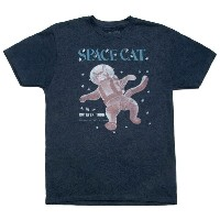 【Out of Print】 Ruthven Todd / Space Cat Tee (Midnight Navy)