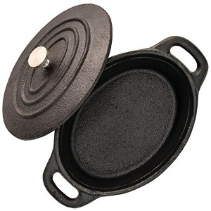"Starfrit 062143 – 008 – 0000 5.3 "" Mini cast-iron Cocotte with Lid"