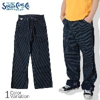SUGAR CANE & Co.(シュガーケーン) 9oz.WABASH STRIPE WORK PANTS SC40786