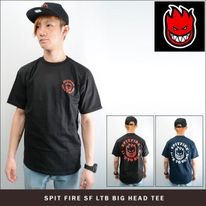 SPIT FIRE SF LTB BIG HEAD TEE (2色展開) スピットファイヤー Tシャツ