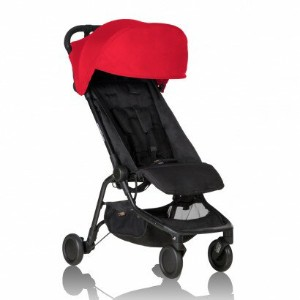 mountain buggy nano travel stroller Rubyマウンテンバギーナノルビー