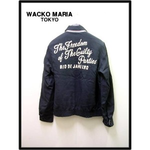 S 【WACKO MARIA ワコマリア スイングトップジャケット】10SS-OUT-01