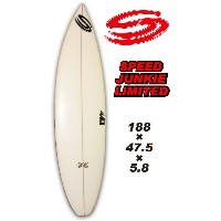 SUN SURF BOARD SPEED JUNKIE LIMITED 188×47.5×5.8 キズあり【サンサーフ サーフボード】 【訳あり】715005
