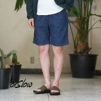 orSlow(オアスロウ)/UNISEX CLIBMING DENIM SHORTS -(81)Denim one wash -