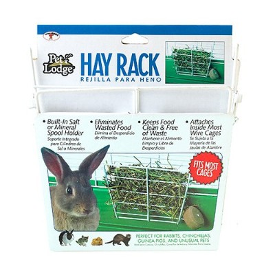 Miller Manufacturing 153171 Wire Rabbit Hay Rack for Cages by Miller