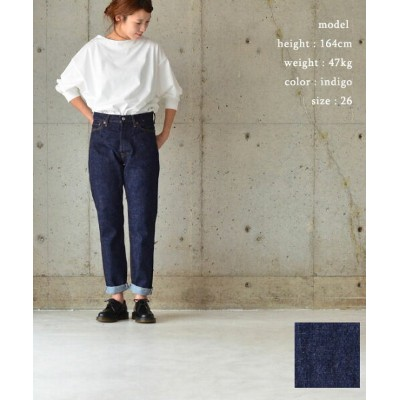 ORDINARY FITS オーディナリーフィッツNEW ROLL UP 5PDENIM【送料無料】【あす楽対応】OM-P122OW