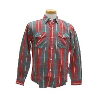 WAREHOUSE ウエアハウス 【COPPER KINGカッパーキング】FLANNEL SHIRTS C柄 O/W