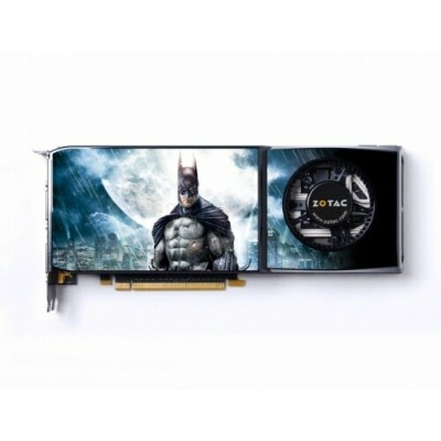 ZOTAC GeForce GTX285 BATMAN Edition 1GB 512BIT DDR3 ZT-285E3LB-BAT MAC版 PCI-e 6ピン変換コネクタ付【中古】...