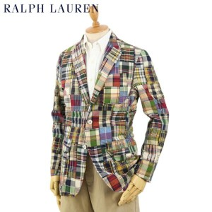 POLO by Ralph Lauren Men's Patchwork Jacket USポロ ラルフローレン パッチワークジャケット