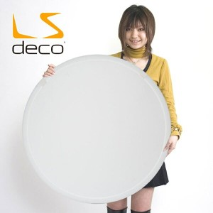 LS DECO 丸レフ板80cm 【白】折りたたみ可能 撮影ライトの必需品(26736) 撮影用照明 料理撮影 おすすめ デジカメ 撮影用ライト メニュー撮影 撮影ライト 商品【撮影機材】