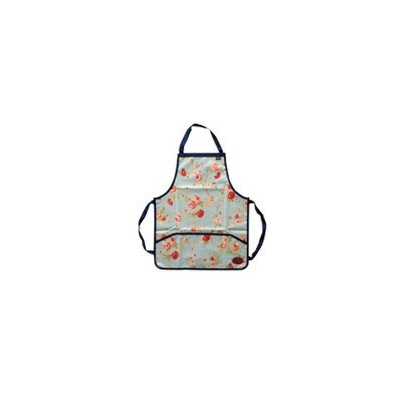 [OUTLET]   Bradley's   Floral Bright PU Apron PUイングリッシュローズエプロン   ブラッドリーズ