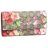 グッチ 財布 レディース GUCCI 404070 KU2IN 8693 GG BLOOMS SUPREME CONTINENTAL WALLET 長財布 B.EB MULTI/DRY ROSE ...