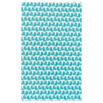 RACHEL POWEL | WAGTAIL TEA TOWEL - TEAL | ティータオル