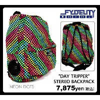 "【FYDELITY 半額セール】 SALE 【FYDELITY】(フィデリティ)バックパック""DAY TRIPPER STEREO BACKPACK"" あす楽対応"