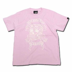 MEX SKULL Tシャツ ピンク one by one clothing