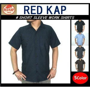 【RED KAP/レッドキャップ】-SHORT SLEEVE WORK SHIRTS-