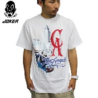 JOKER BRAND/ジョーカーブランド半袖TシャツCALIFORNIA TEE白joker tribal famous ogabel veniceoriginals venice13...