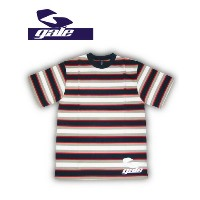 GALE ボーダーTシャツ【カラーNAVY×RED 】715005
