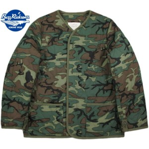BUZZ RICKSON'S/バズリクソンズ LINER, EXTREME COLD WEATHER, COAT Type M-65 LINER CAMO柄 M65ジャケットライナー/M...