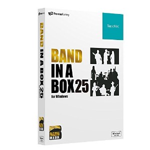 PG Music Band-in-a-Box 25 for Windows BasicPAK