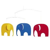 Flensted mobiles フレンステッド モビール 《 Elephant Party 》