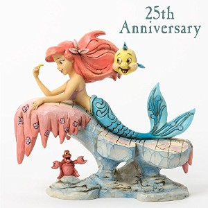 Jim Shore for Enesco Disney Traditions Little Mermaid Figurine, 6.25-Inch [並行輸入品]