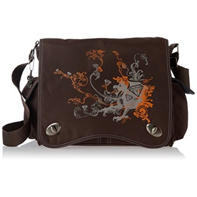 Kalencom Diaper Bag, Screened Chocolate Dragon by Kalencom