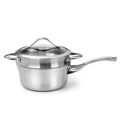 Calphalon Contemporary Stainless Steel 2-1/2-Quart Sauce and Double Boiler by Calphalon