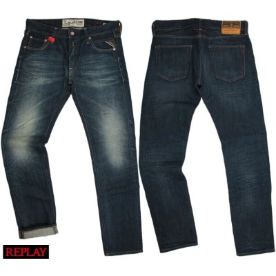 "REPLAY/リプレイ MA989F ""LENRICK"" REGULAR SLIM レギュラースリムストレート 12.5oz FLAT FINISH DENIM"