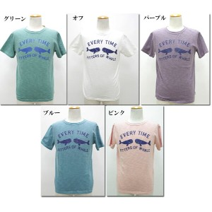 PACIFIC PARK STORE 【パシフィックパークストア】 顔料染めシリーズイルカプリントT  PS-13374-M(PPS-13374-L) 【10P09Jul16】