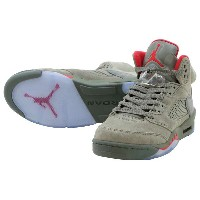NIKE AIR JORDAN 5 RETRO BGナイキ エアー ジョーダン 5 レトロ BGDK STUCCO/UNIV RED-RIVER ROCK-BIO BEIGE【レディース スニーカー】