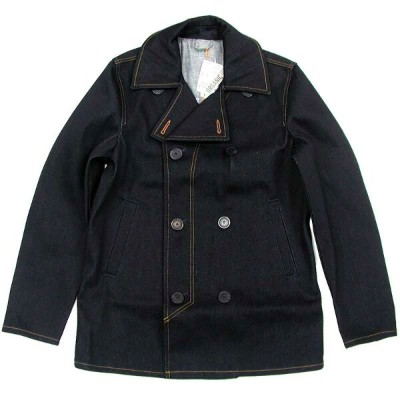 Nudie Jeans(ヌーディー・ジーンズ) EDWARD Dry Denim Pea Coat Jacket デニム ピーコート