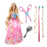 Barbie バービー フィギュア Cut N Style Princess Barbie Doll