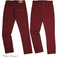 Nudie Jeans co /ヌーディージーンズ GRIM TIM (グリムティム) straight slim fit with normal rise ORG. RED CORD(オーガニック...