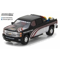 1/64 2015 Chevy Silverado in Black with Safety Equipment in Truck Bed[グリーンライト]《取り寄せ※暫定》