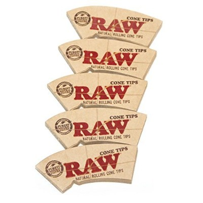 5 x RAW NATURAL ROLLINGコーンヒント – 32あたりヒント小冊子(合計160ヒント) by Raw