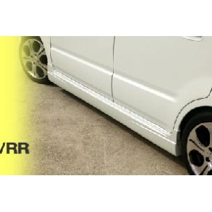 DAMD ダムド エアロ スズキ WAGON R/RR (ワゴンR/RR) MH21S Styring Effect CHROME HEART SIDE SKIRT(b) 未塗装