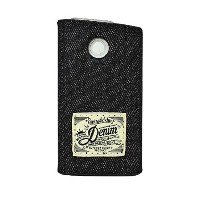 グロー カバー Denim Strap Cover for glo スリーブ (Black)