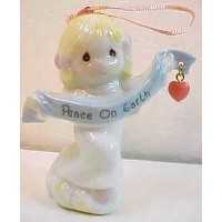 Precious Moments Peace on Earth Angel Ornament by Precious Moments [並行輸入品]