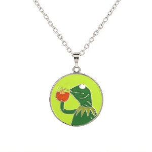 That 's None of MyビジネスKermit Frogネックレス