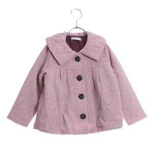 【SALE 83%OFF】リシェス richesse バックリボンコート (ピンク)