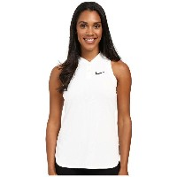 ナイキ レディース テニス トップス【Court Premier Slam Tennis Tank Top】White/Black