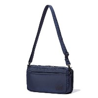 (ヘッド・ポーター) HEADPORTER MASTER NAVY SHOULDER BAG (S) NAVY
