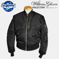 BUZZ RICKSON'S(バズリクソンズ)William Gibson Collection(ウイリアムギブソンコレクション)TYPE BLACK MA-1 SLENDER(REGULAR)...