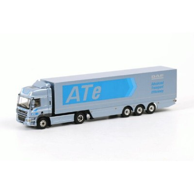 DAF DAF CF 85 Space Cab Box トレーラー3軸 /WSI 建設機械模型 1/50