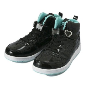 キッズ 【VANS】 ヴァンズ JUMA V2023K HEARTPTN 17FA BLACK/MINT